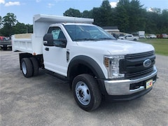 New 2019 Ford F-550 Chassis XL w/ Rugby 3-4 Yard White Dump Body Commercial-truck in Comstock, NY