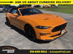 New 2019 Ford Mustang EcoBoost Premium 2dr Convertible Convertible in Comstock, NY