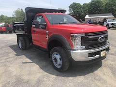 New 2019 Ford F-550 Chassis XL w/ Rugby 3-4 Yard Dump Body Truck Regular Cab in Comstock, NY
