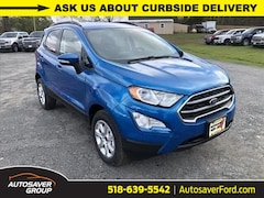 New 2020 Ford EcoSport SE Crossover in Comstock, NY
