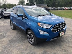 New 2019 Ford EcoSport Titanium Crossover in Comstock, NY