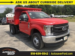 New 2019 Ford F-350 Chassis XL w/ Rugby 2-3 Yard Dump Body Commercial-truck in Comstock, NY