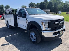 New 2019 Ford F-550 Chassis XL w/ Knapheide KMS Crane Commercial-truck in Comstock, NY