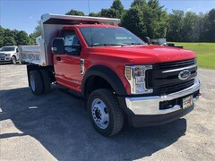 New 2019 Ford F-550 Chassis XL w/ Rugby 3-4 Yard Dump Body Commercial-truck in Comstock, NY