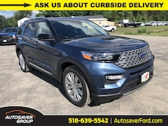 New 2020 Ford Explorer Limited SUV in Comstock, NY