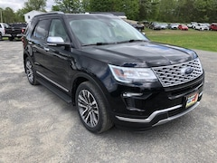 New 2019 Ford Explorer Platinum SUV in Comstock, NY