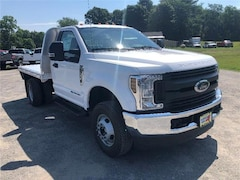 New 2019 Ford F-350 Chassis XL w/ Knapheide Flatbed Commercial-truck in Comstock, NY