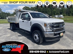 2021 Ford F-450 Chassis XL w/ Rugby SS 11ft 3-4 Yard Side Drop Dump Body