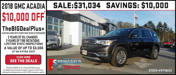 Springfield Buick Gmc >> New Vehicle Specials Autosaver Group