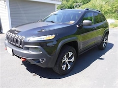 Used 2016 Jeep Cherokee Trailhawk 4x4 SUV in Littleton, NH