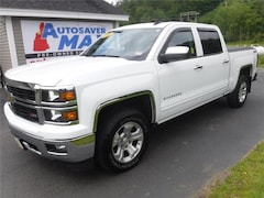 Used 2015 Chevrolet Silverado 1500 LT Truck Crew Cab in Littleton, NH