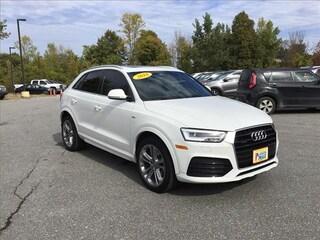 Used 2018 Audi Q3 2.0T Premium SUV in South Burlington, VT