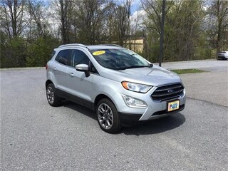 Used 2018 Ford EcoSport Titanium SUV in South Burlington, VT