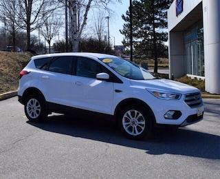 Used 2019 Ford Escape SE SUV in South Burlington, VT