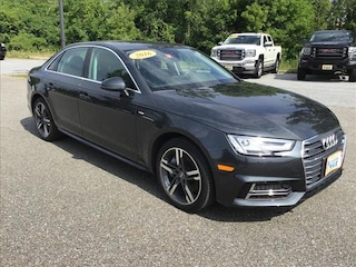 Used 2017 Audi A4 2.0T Premium Sedan St. Johnsbury, VT