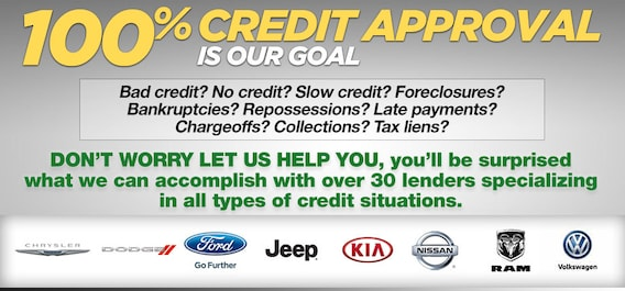Bad Credit? 100% Approval Is Our Goal | AutoServ Dealer Group
