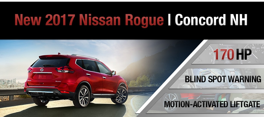 2017 nissan rogue dealer in nh