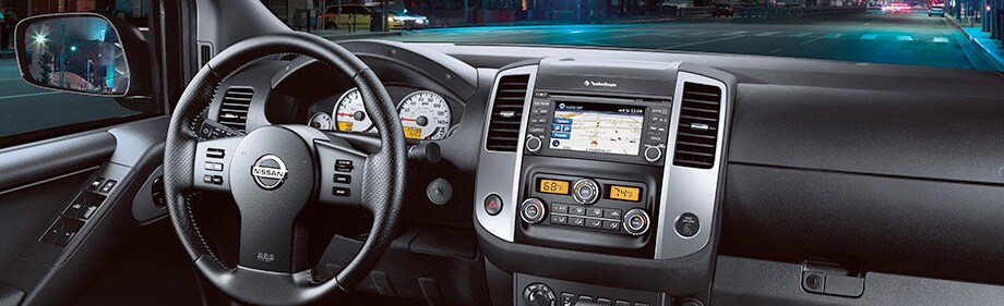2017 Nissan frontier dashboard nh