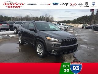 New 2018 Jeep Cherokee Latitude 4x4 SUV
