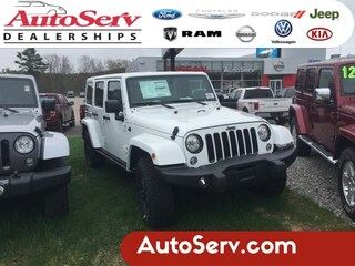 New 2017 Jeep Wrangler Unlimited Sahara SUV