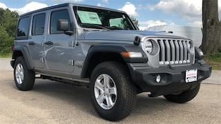 New 2019 Jeep Wrangler UNLIMITED SPORT S 4X4 Sport Utility