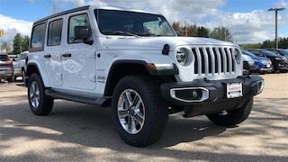 New 2019 Jeep Wrangler UNLIMITED SAHARA 4X4 Sport Utility