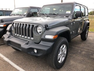 New 2021 Jeep Wrangler UNLIMITED SPORT S 4X4 Sport Utility