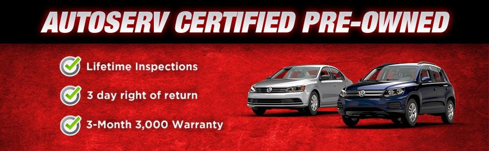 AutoServ Certified Pre-Owned - Eight CPO Brands To Choose From