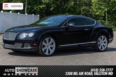 2012 Bentley Continental GT Coupe Coupe