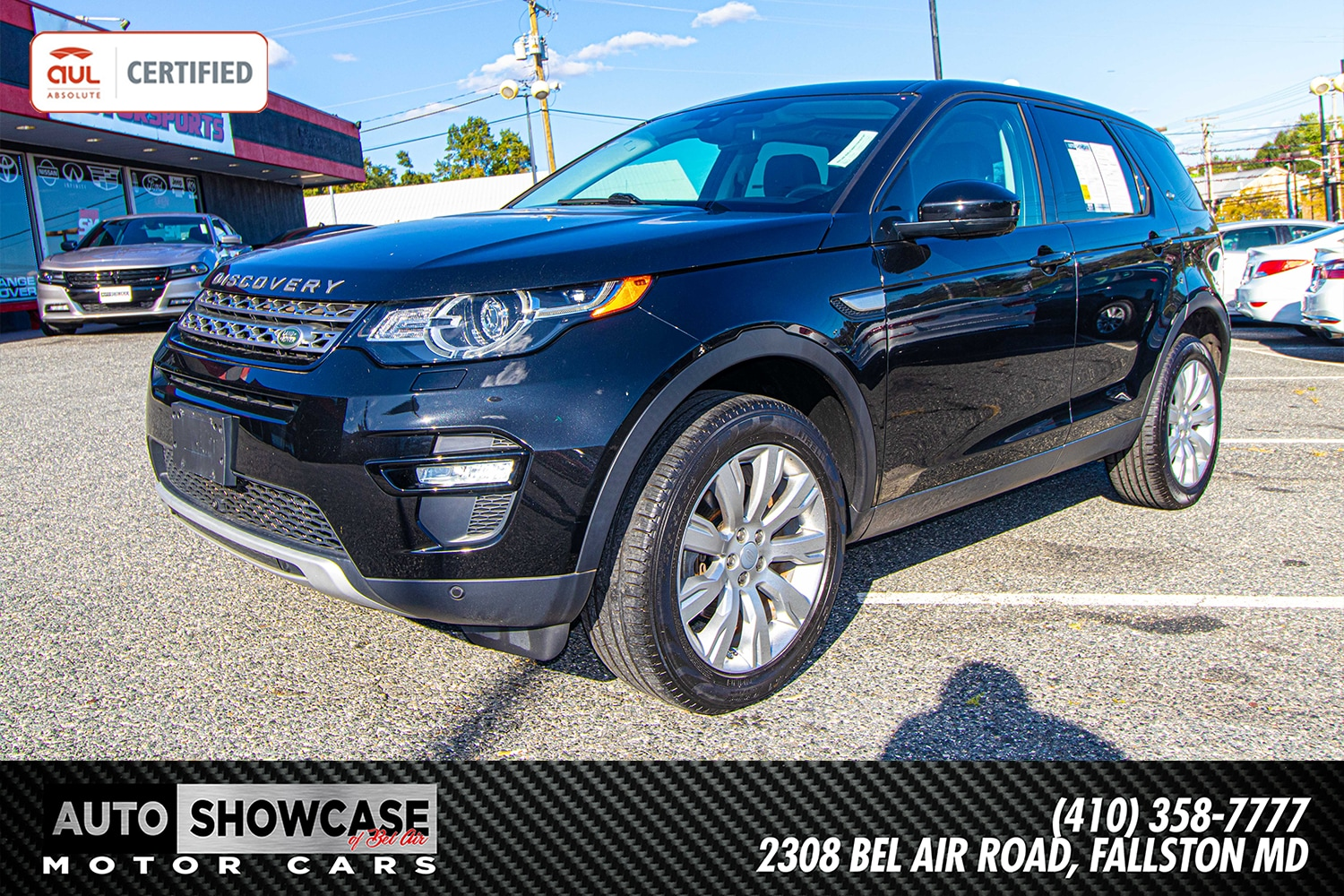 2015 Land Rover Discovery Sport HSE AWD  HSE