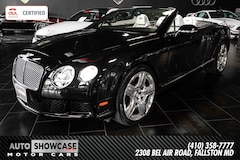 2012 Bentley Continental GT Convertible Convertible