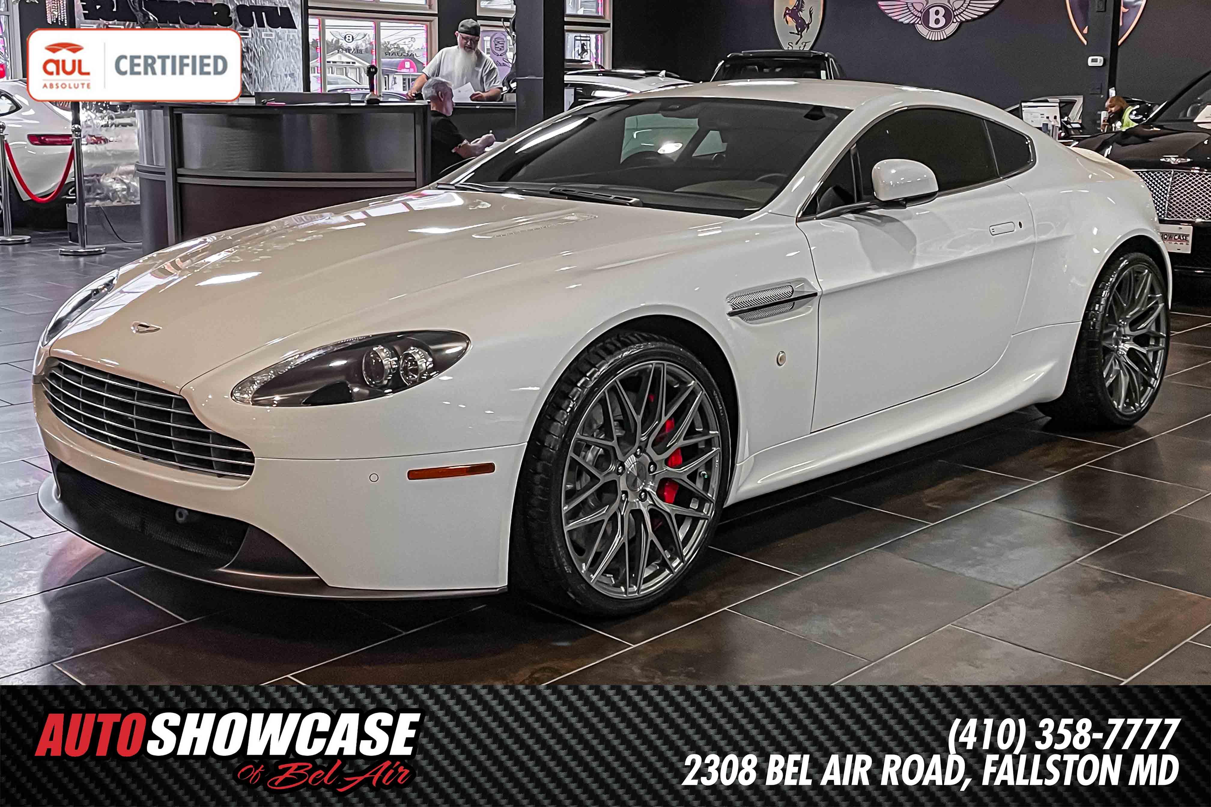 Used 2014 Aston Martin V8 Vantage For Sale At Auto Showcase Of Bel Air Vin Scfekbak9egc18629