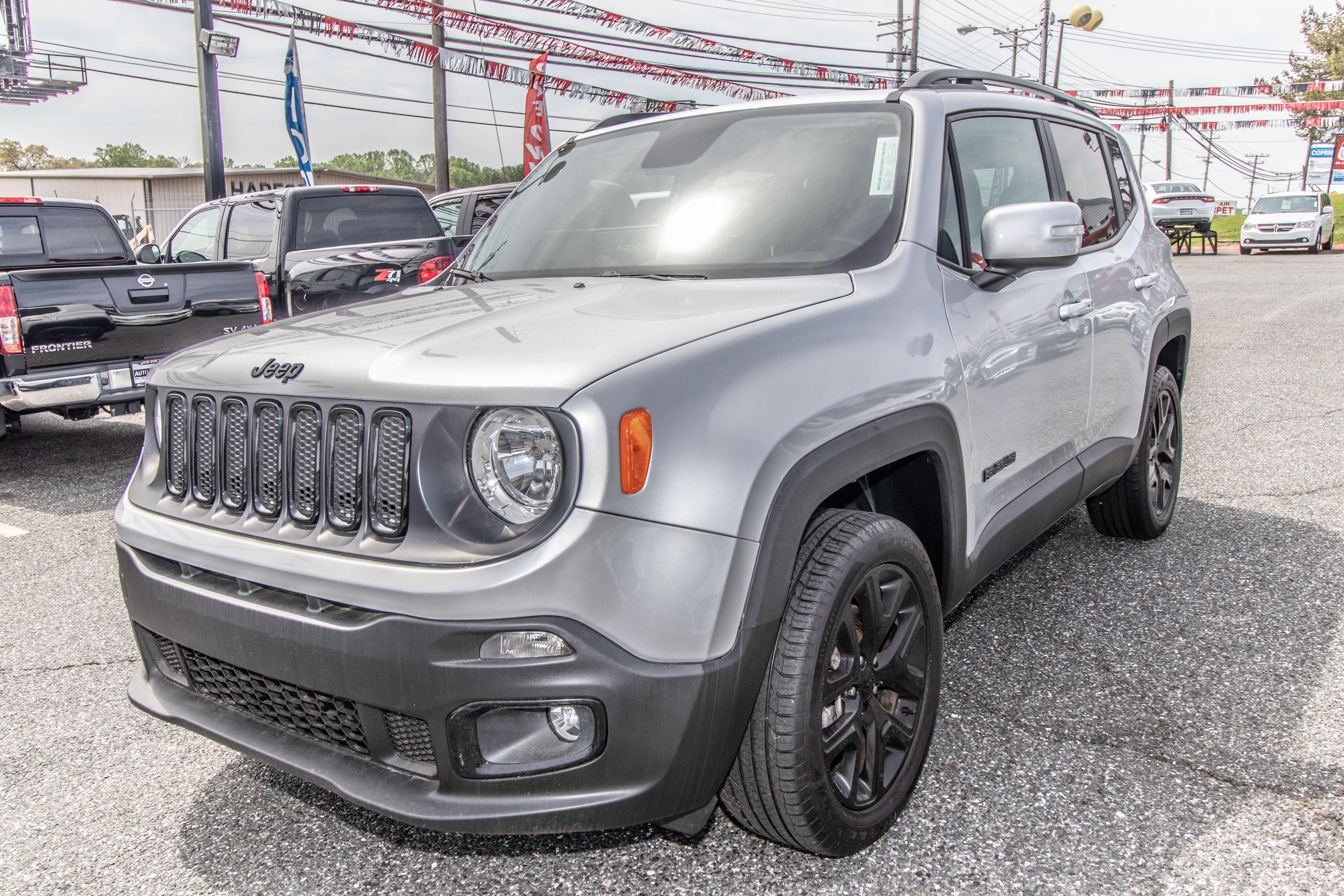 2017 Jeep Renegade Altitude Altitude 4x4