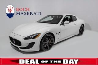 pre-owned luxury 2017 Maserati Granturismo Sport Coupe for sale in Norwood, MA near Boston
