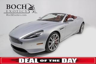 pre-owned luxury 2016 Aston Martin DB9 GT Convertible for sale in Norwood, MA near Boston