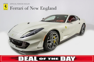 pre-owned luxury 2018 Ferrari 812 Superfast Coupe for sale in Norwood, MA near Boston
