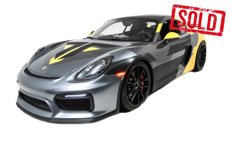 2016 Porsche Cayman 718
