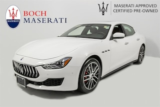 pre-owned luxury 2018 Maserati Ghibli S Q4 Sedan for sale in Norwood, MA near Boston