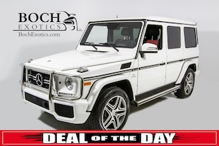 used luxury 2016 Mercedes-Benz G-Class G 63 AMG® SUV for sale in Norwood, MA near Boston