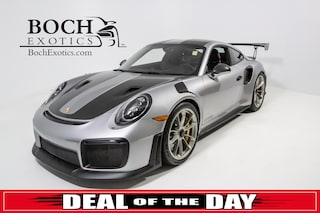 pre-owned luxury 2019 Porsche 911 GT2 RS Coupe for sale in Norwood, MA near Boston