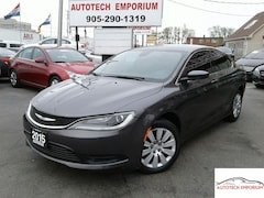 2015 Chrysler 200 LX Auto Push Start/All Power Options &GPS* Sedan