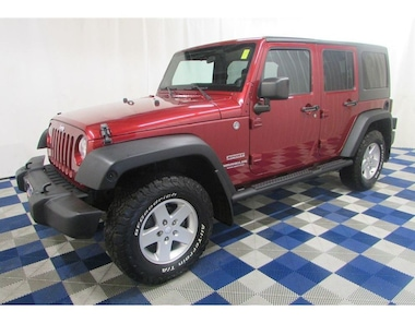 2011 Jeep WRANGLER UNLIMITED Sport 4x4/ALLOYS/CRUISE!! SUV