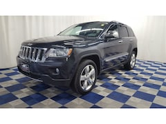 2013 Jeep Grand Cherokee Overland 4X4/DVD/LEATHER/NAV/LOADED!! SUV