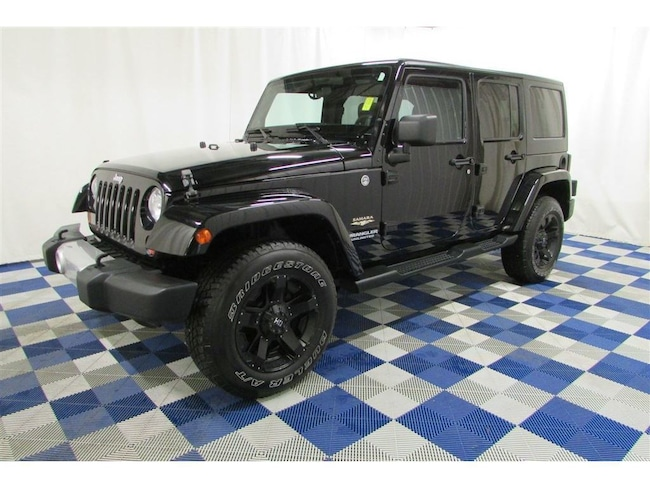 2012 Jeep WRANGLER UNLIMITED Sahara 4X4/ACCIDENT FREE/ XD/HD AFTERMARKET RIMS SUV