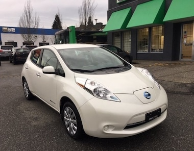 2016 Nissan LEAF S| Quick Charge | Local BC Vehicle | No Accidents Hatchback