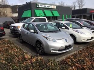 2016 Nissan LEAF SV   Quick Charge   Nav   Heated Seats Hatchback