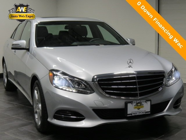 2016 Mercedes-Benz E-Class E 350 4matic® Sedan