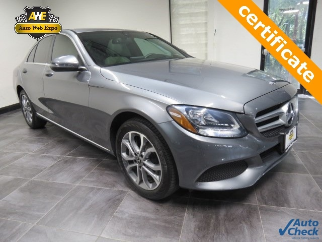 2018 Mercedes-Benz C-Class C 300 4matic® Sedan