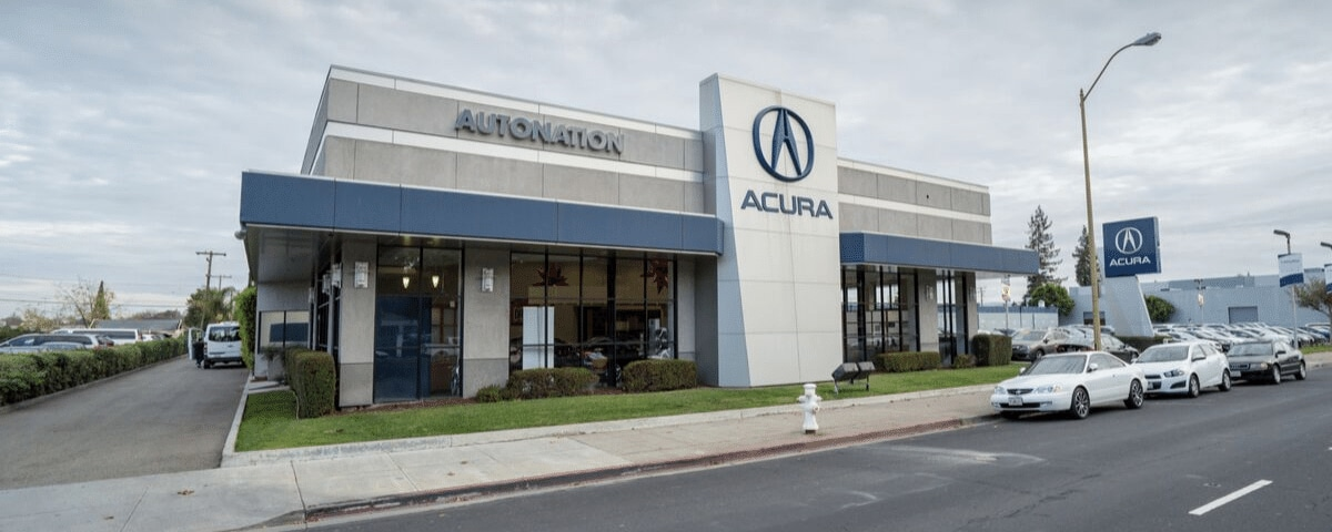 Exterior view of AutoNation Acura Stevens Creek