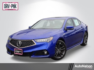 2020 Acura TLX with A-Spec Package and Red Interior Car